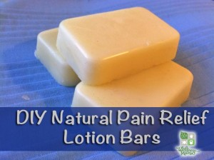 How to Make Pain Relief Lotion Bars