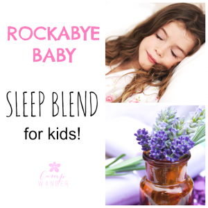 Essential Oil Sleep Blend for Kids