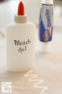 How To Make Your Own Bleach Gel Pen