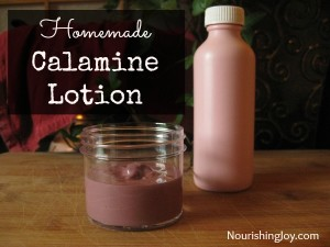 How To Make Homemade Calamine Lotion