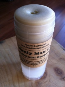 How to Make a Homemade, All Natural Deodorant for Men