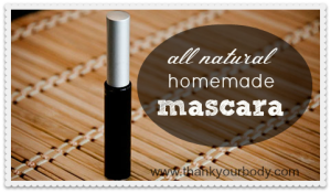 How to Make Homemade Mascara: All Natural and Eye Friendly