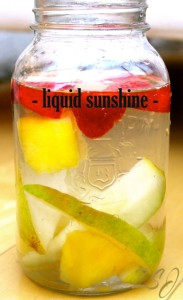 How to Make Liquid Sunshine Vitamin Water & More