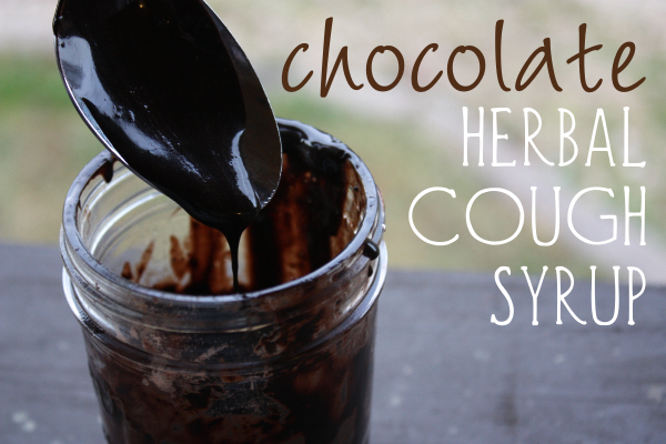 chocolate herbal cough syrup