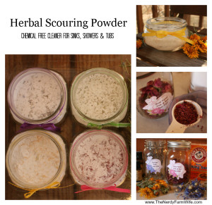 Homemade Herbal Scouring Powder