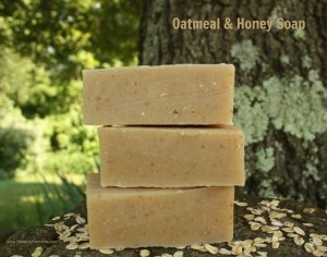 Homemade Oatmeal & Honey Soap Recipe