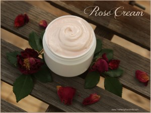 Homemade Rose Face & Body Cream Recipe