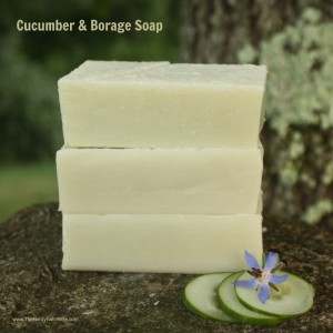 DIY Cucumber & Borage Soap Recipe