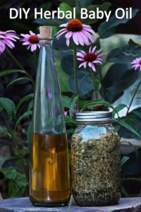 How to Make Your Own Herbal Baby Oil