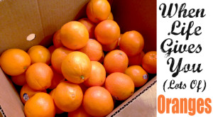 What To Do When Life Gives You Lots Of Oranges!