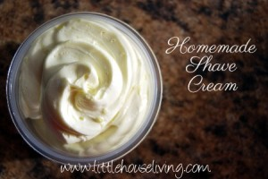 Easy Homemade Shaving Cream Recipe