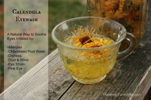 Calendula Eyewash – A Natural Remedy for Irritated Eyes