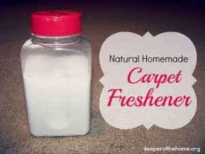 How to Make a Natural Homemade Carpet Freshener