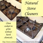 Homemade Natural Stove Cleaners