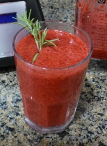 Raspberry Rosemary Smoothie Recipe