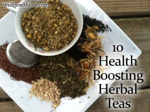 10 Health Boosting Herbal Tea Recipes