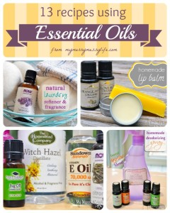 13 Cleaning and Body Care Recipes Using Essential Oils
