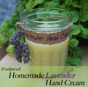 How to Make Homemade Lavender Hand Cream