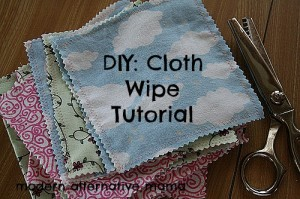 Homemade Cloth Baby Wipes Tutorial