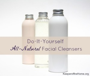 4 Do It Yourself All-Natural Facial Cleansers