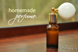Homemade All Natural Perfume with Essential Oils