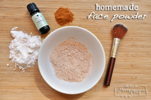 How to Make Homemade Face Powder Foundation – All Natural