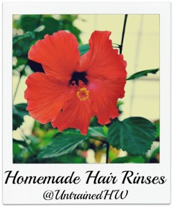 How To Make Homemade Hair Rinses