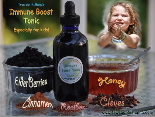 Recipe for Children's Immune Boosting Tonic