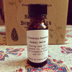How to Make an Anti-Aging Calendula-Rosehip Facial Serum