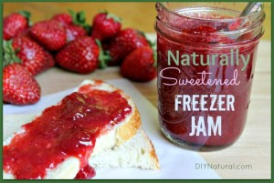 How to Make Naturally Sweetened Freezer Jam