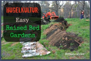 Hugelkultur: German-style Raised Garden Beds