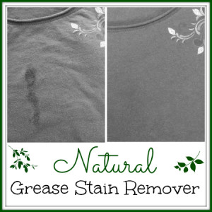 How to Make a Natural Grease Stain Remover