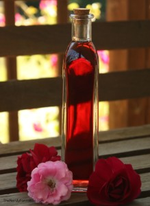 Homemade Rose Infused Witch Hazel