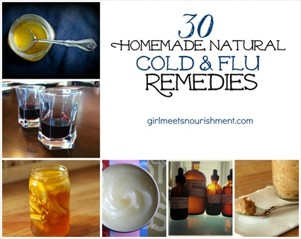 30 Homemade, Natural Cold & Flu Remedies