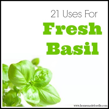 21 Uses for Fresh Basil