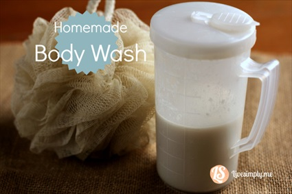 How to Make a Homemade Body Wash