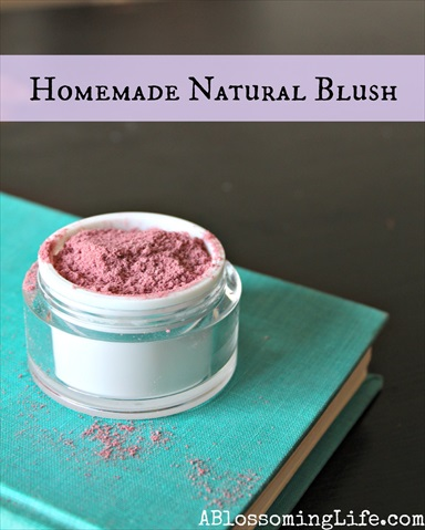 Homemade All-Natural Blush