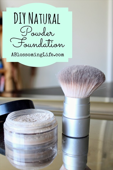 Homemade Natural Powder Foundation Recipe