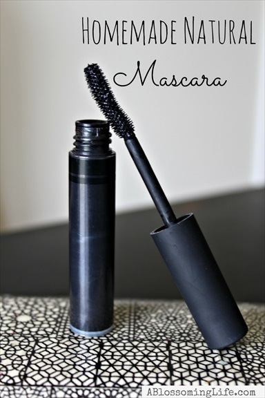 Homemade All-Natural Mascara