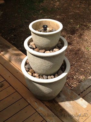 How to Make a Flower Pot Fountain