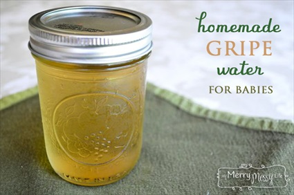 Homemade Natural Gripe Water for Colic in Babies