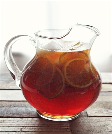 Honey & Orange Sweet Tea