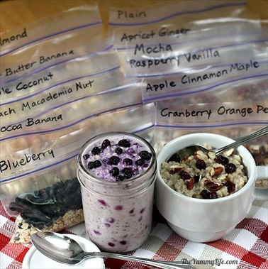 Homemade Healthy Instant Oatmeal Packets