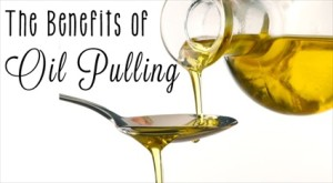 Oil Pulling For A Healthier Mouth!