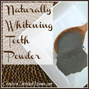 Homemade Whitening Tooth Powder Recipe