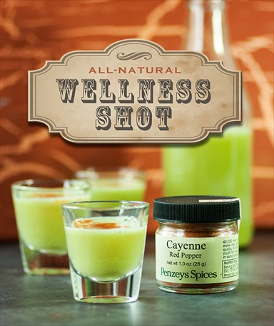 Homemade Wellness Juice Shot