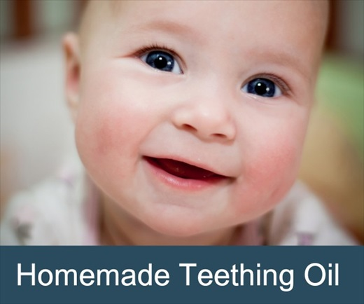 Homemade Teething Oil