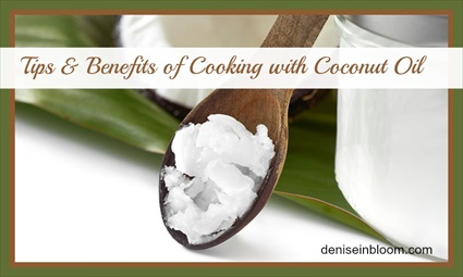 Tips and Benefits of Cooking with Coconut Oil