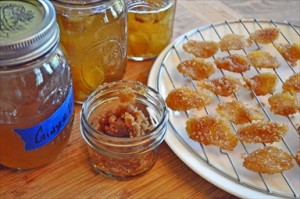 Homemade Candied Ginger and Ginger Syrup Recipe