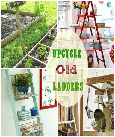 Fun Ways to Use Old Ladders In Your Home